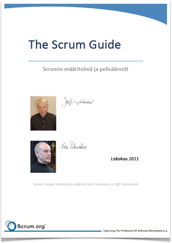 Lataa Scrum Guide 2011