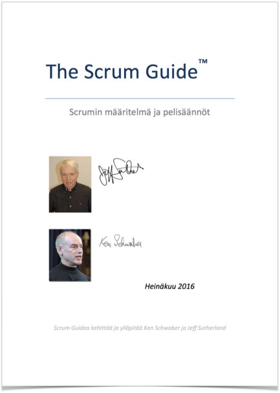 Lataa Scrum Guide