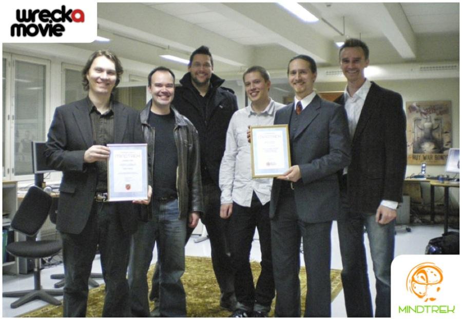 Wreckamovie.comin Mindtrek-palkinto 2008