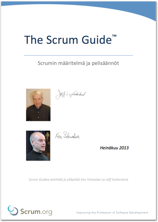 Lataa Scrum Guide